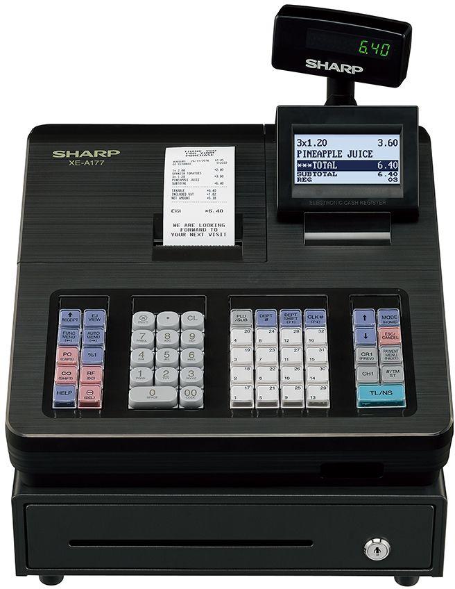 OVP Sharp XE-A147X Registrierkassensystem inkl TSE Lizenz schwarz SOFORT