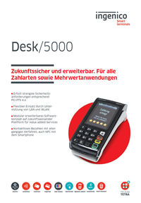 Datenblatt EC-Terminal Desk/5000